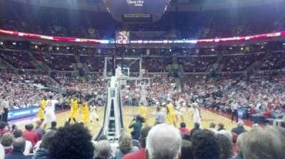 Value City Arena, vak: 131, rij: c, stoel: 10