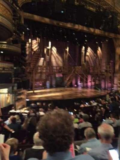 Richard Rodgers Theatre, vak: Orch, stoel: 25