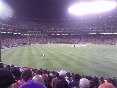 Oriole Park at Camden Yards, vak: 98, rij: 15, stoel: 1