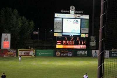 Midway Stadium, vak: E, rij: HH, stoel: 12