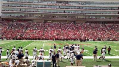 Maryland Stadium, vak: 5, rij: L, stoel: 5