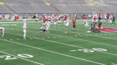 Camp Randall Stadium, vak: w, rij: 20, stoel: 14