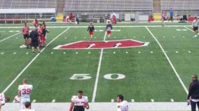 Camp Randall Stadium, vak: t, rij: 20, stoel: 14