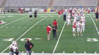 Camp Randall Stadium, vak: s, rij: 20, stoel: 14