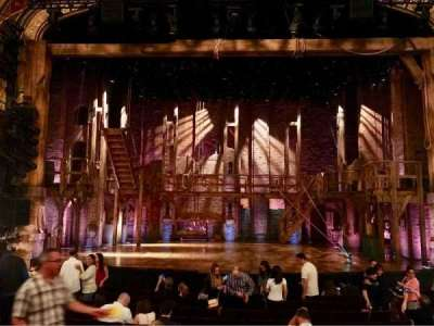 Richard Rodgers Theatre, vak: ORCH, rij: M, stoel: 108