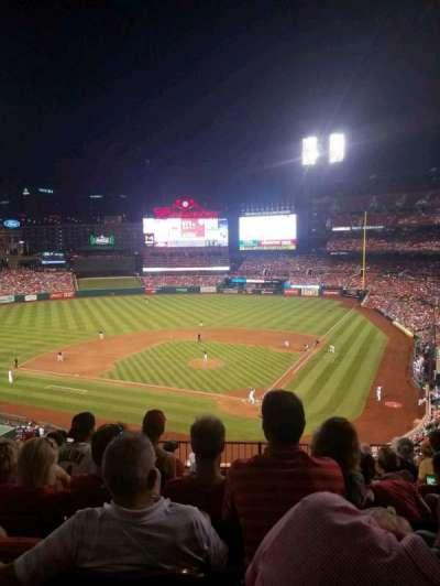 Busch Stadium, vak: 252, rij: 8, stoel: 10