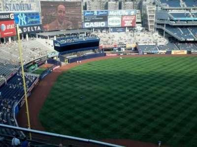 Yankee Stadium, vak: 429, rij: 2, stoel: 11