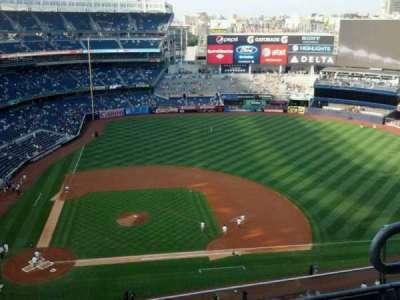 Yankee Stadium, vak: 417, rij: 4, stoel: 3