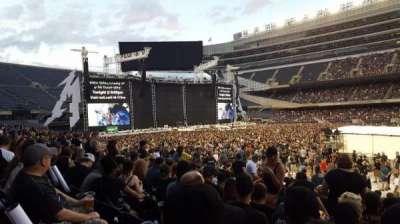 Soldier Field, vak: 136, rij: 14, stoel: 13