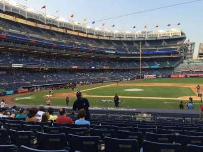 Yankee Stadium, vak: 116, rij: 20, stoel: 8
