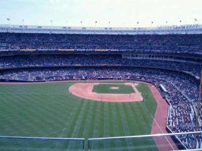 Yankee Stadium, vak: 434b, rij: 2, stoel: 7