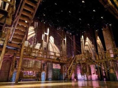 Richard Rodgers Theatre, vak: ORCH, rij: A, stoel: 5