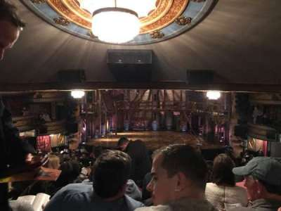 Richard Rodgers Theatre, vak: Orch, rij: V, stoel: 106