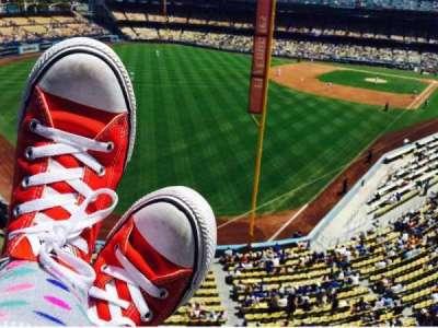 Dodger Stadium, vak: Way, rij: Up, stoel: High