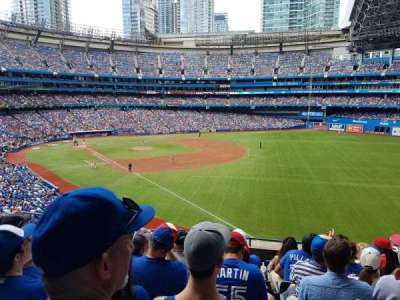 Rogers Centre, vak: 212R, rij: 9, stoel: 10 and 11