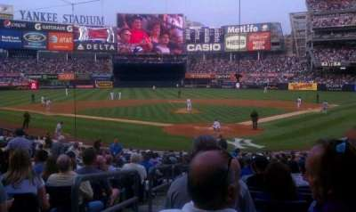 Yankee Stadium, vak: 120b, rij: 23, stoel: 14