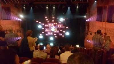 August Wilson Theatre, vak: MEZZC, rij: H, stoel: 101