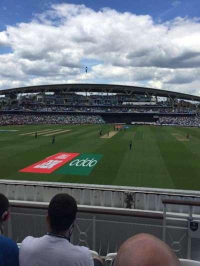 Kia Oval, vak: Pavilion Balcony, rij: D, stoel: 60