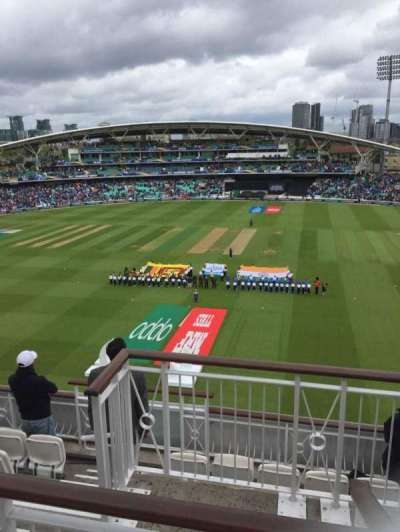 Kia Oval, vak: Pavilion Top, rij: F, stoel: 12