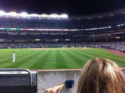 Yankee Stadium, vak: 134, rij: 12, stoel: 14