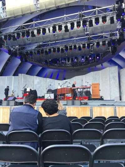 Hollywood Bowl, vak: pb, rij: 7, stoel: 9