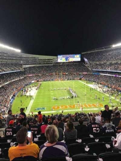 Soldier Field, vak: 353, rij: 12, stoel: 12