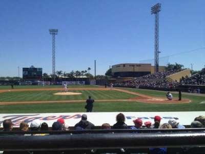 Joker Marchant Stadium, vak: 210, rij: A, stoel: 8
