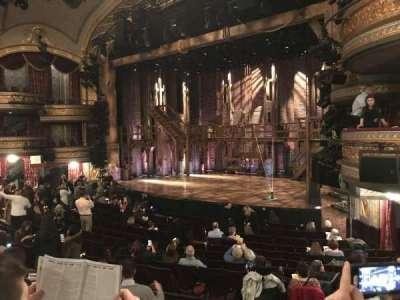 Richard Rodgers Theatre, vak: Orchestra, rij: P, stoel: 24