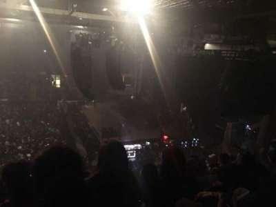 Cross Insurance Arena, vak: C, rij: 22, stoel: 13