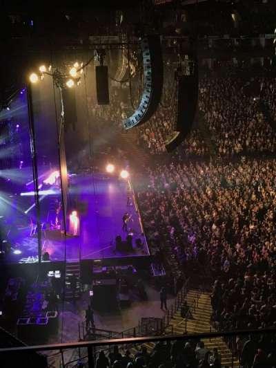 Oracle Arena, vak: 219, rij: 3, stoel: 4