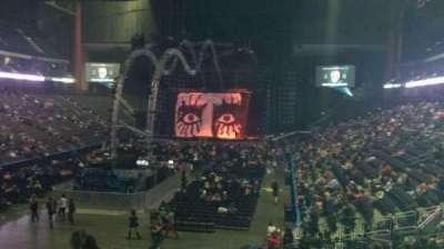 Jacksonville Veterans Memorial Arena, vak: 107, rij: T, stoel: 21