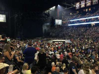 Jacksonville Veterans Memorial Arena, vak: 113, rij: M, stoel: 5