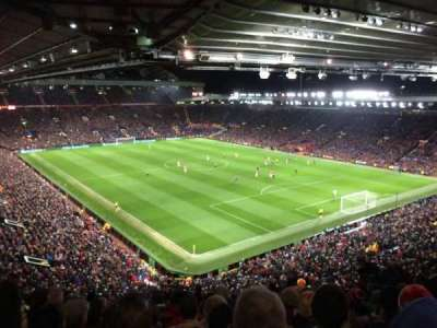 Old Trafford, vak: NW3433, rij: 13, stoel: 31