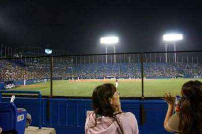 Jingu Stadium, vak: Outfield Reserved C, rij: 3, stoel: 1