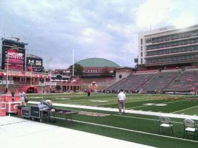 Maryland Stadium, vak: 6, rij: b, stoel: 17