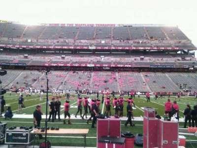 Maryland Stadium, vak: 25, rij: e, stoel: 19