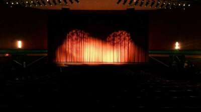 Landis Theater vak orchestra center