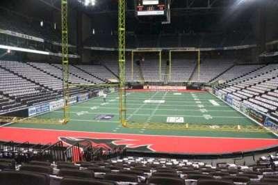 Jacksonville Veterans Memorial Arena, vak: 120, rij: N, stoel: 7