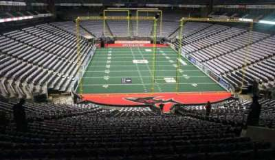 Jacksonville Veterans Memorial Arena, vak: 120, rij: BB, stoel: 7