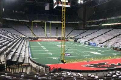 Jacksonville Veterans Memorial Arena, vak: 121, rij: M, stoel: 3