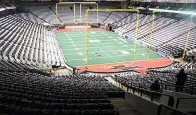 Jacksonville Veterans Memorial Arena, vak: 121, rij: DD, stoel: 1
