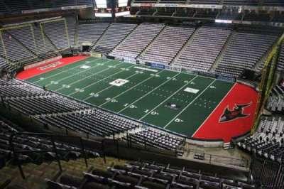 Jacksonville Veterans Memorial Arena, vak: 301, rij: G, stoel: 5