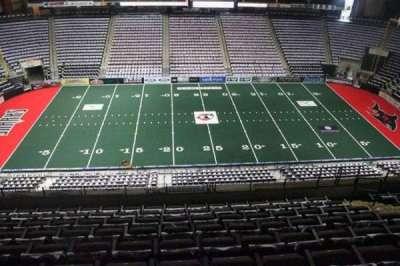 Jacksonville Veterans Memorial Arena, vak: 304, rij: H, stoel: 10