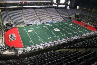 Jacksonville Veterans Memorial Arena, vak: 306, rij: H, stoel: 7
