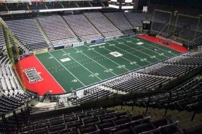 Jacksonville Veterans Memorial Arena, vak: 307, rij: H, stoel: 8