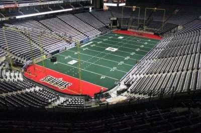 Jacksonville Veterans Memorial Arena, vak: 308, rij: E, stoel: 4