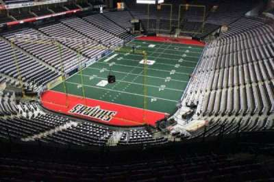 Jacksonville Veterans Memorial Arena, vak: 310, rij: F, stoel: 7