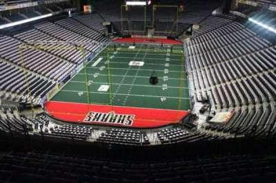 Jacksonville Veterans Memorial Arena, vak: 311, rij: F, stoel: 6