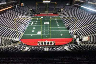 Jacksonville Veterans Memorial Arena, vak: 312, rij: F, stoel: 7