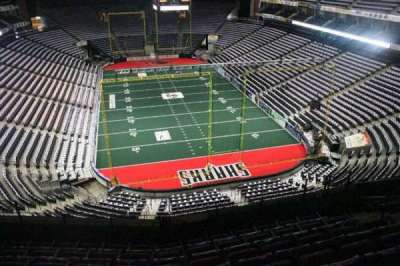 Jacksonville Veterans Memorial Arena, vak: 313, rij: F, stoel: 7